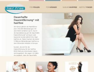 hairfree.eu screenshot