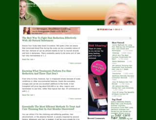 hairloss.fit-healthy-well.com screenshot