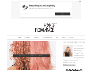 hairromance.com screenshot