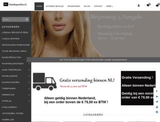 hairshoponline.nl screenshot