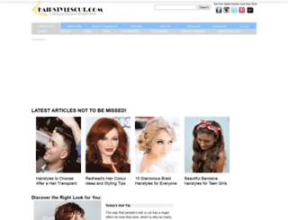 hairstylescut.com screenshot