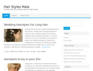 hairstylesmale.com screenshot