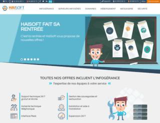 haisoft.be screenshot