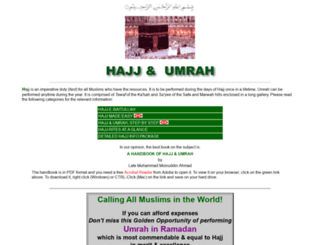 hajjumrahguide.com screenshot
