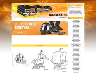hajos-kifestok.kifesto1.hu screenshot