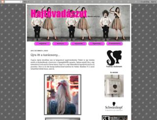 hajtovadaszat.blogspot.com screenshot