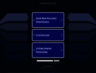 hakainde.com screenshot