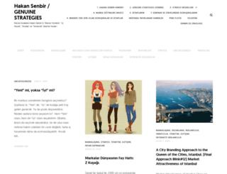 hakansenbir.com screenshot