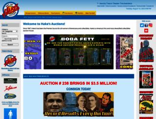 hakes.com screenshot