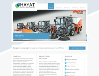 hakoservis.com screenshot