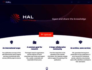 hal.archives-ouvertes.fr screenshot