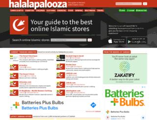 halalapalooza.com screenshot