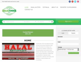 halalauction.com screenshot