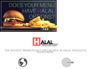 halalmegastore.com screenshot