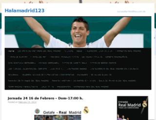 halamadrid123.com screenshot