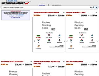 haldimandmotors.com screenshot