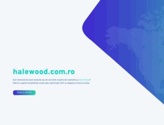 halewood.com.ro screenshot