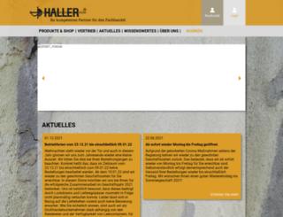 haller-stahlwaren.de screenshot