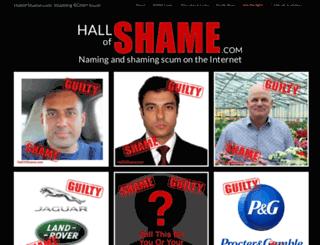 hallofshame.com screenshot