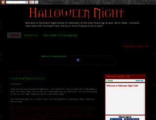 halloween-nights.blogspot.com screenshot