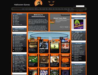 halloweengames.biz screenshot