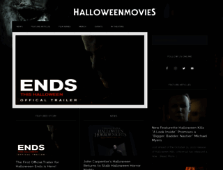halloweenmovies.com screenshot