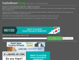 halloweenproxy.com screenshot