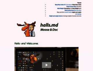 halls.md screenshot