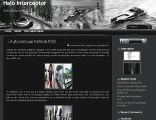 halointerceptor.com screenshot