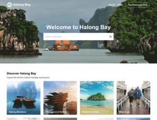 halongbay.info screenshot