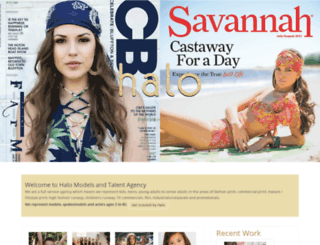 halotalentsavannah.com screenshot