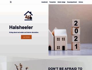 halsheeler.com screenshot