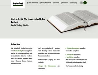 haltefest.ch screenshot