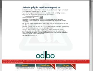 hamasport.se screenshot