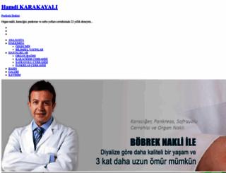 hamdikarakayali.com.tr screenshot