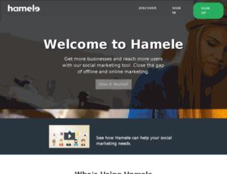 hamele.asia screenshot