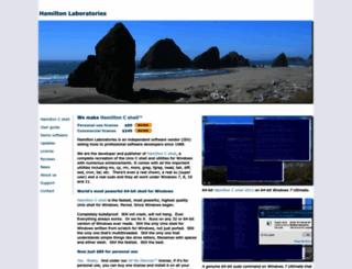 hamiltonlabs.com screenshot
