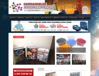 hammaddeleransiklopedisi.com screenshot