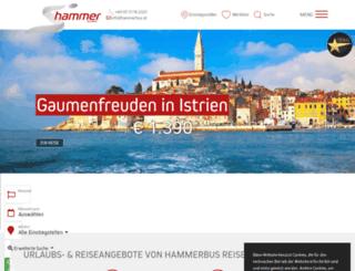 hammerbus.at screenshot