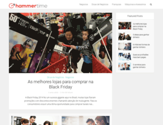 hammertime.com.br screenshot
