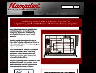 hampden.com screenshot