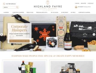 hampers-online.com screenshot