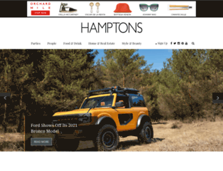 hamptons-magazine.com screenshot