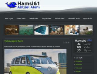 hamsi61.com screenshot