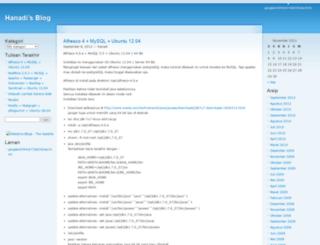 hanadi.wordpress.com screenshot