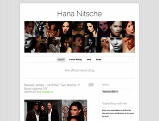 hananitsche.wordpress.com screenshot