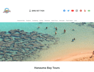 hanaumabaytours.com screenshot