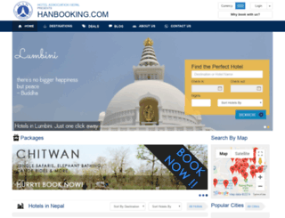 hanbooking.com screenshot