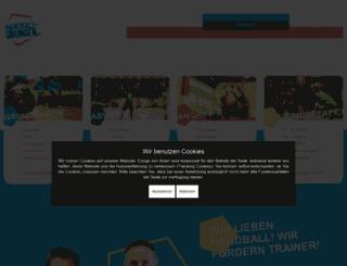 handball-uebungen.de screenshot