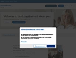 handelsbanken.co.uk screenshot